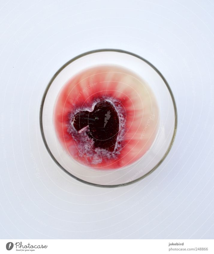 White Red Love Sadness Glass Heart Glass Broken Circle Romance Transience End Fluid Pain Decline Relationship