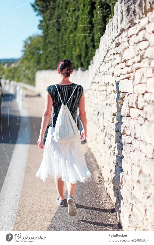 #A# the french girl 1 Human being Esthetic To go for a walk Woman Walking Vacation & Travel Vacation photo Vacation mood Vacation destination Vacation traffic
