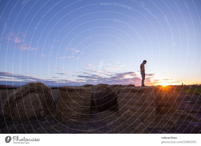 man looking at the horizon Vacation & Travel Summer Ocean Mountain Human being Man Adults Body 30 - 45 years Nature Landscape Sky Horizon Alps Bridge Jacket