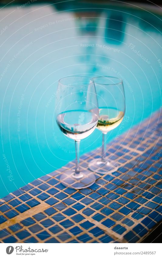 enjoying honeymoon Beverage Cold drink Alcoholic drinks Wine Sparkling wine Prosecco Champagne Glass Style Joy Life Harmonious Leisure and hobbies
