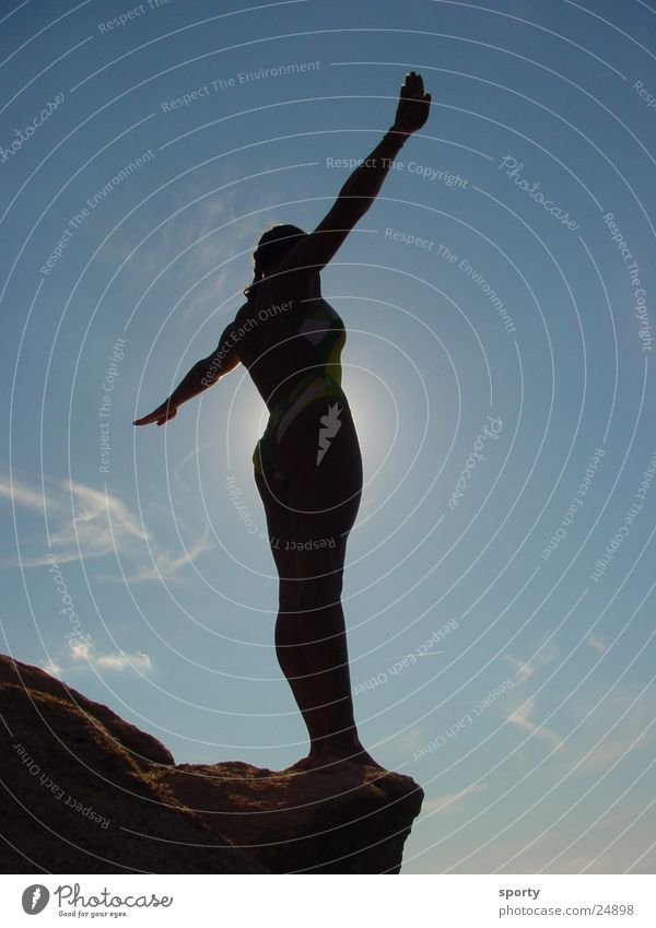Sun Feminine Freedom Happy Esthetic Brave Gravity Extreme sports