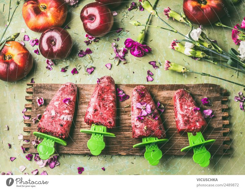 Summer Healthy Eating Red Food photograph Style Garden Living or residing Design Fruit Jump Nutrition Table Ice cream Kitchen Organic produce
