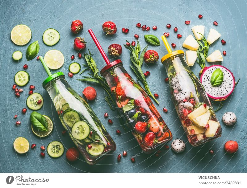 Summer Healthy Eating Water Style Food Design Fruit Nutrition Orange Table Fitness Drinking water Herbs and spices Beverage Vegetable