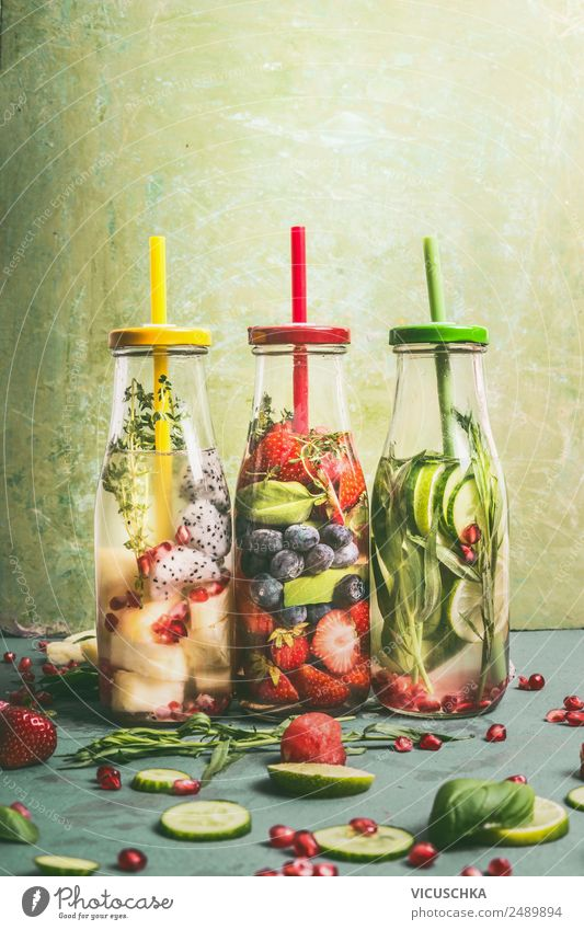 Summer Healthy Eating Water Style Food Design Fruit Nutrition Orange Fitness Drinking water Herbs and spices Beverage Vegetable Apple