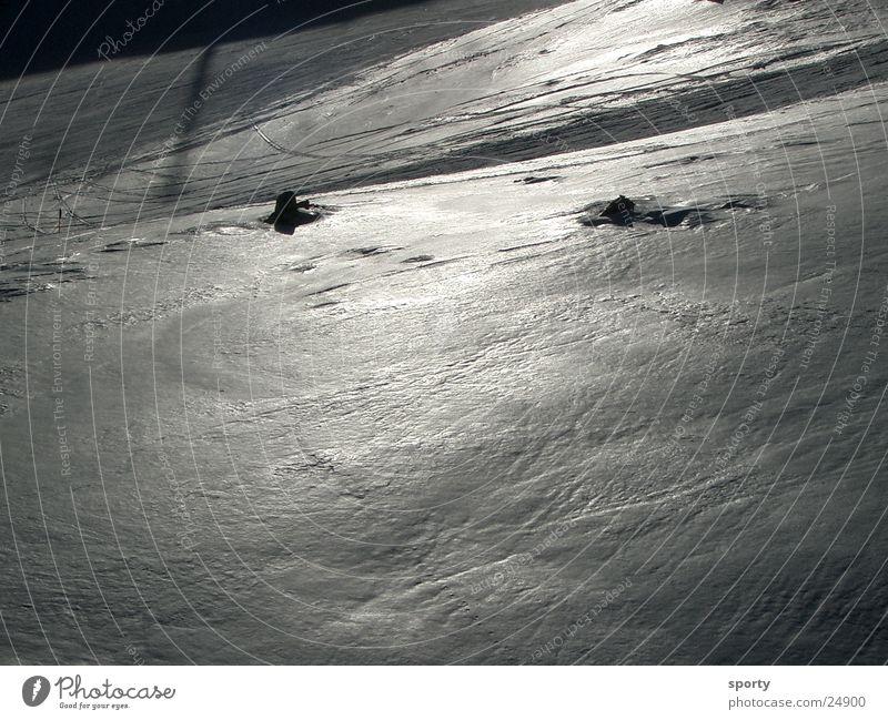 Winter Snow Mountain Ice Skiing Ski run Snow layer
