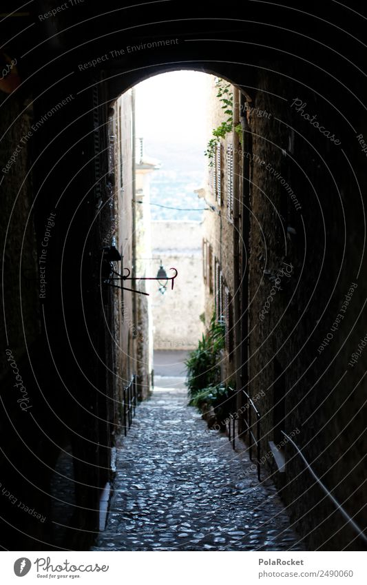 #A# Falling lane House (Residential Structure) Esthetic Alley France Provence Cote d'Azur Peaceful Remote Deserted Wanderlust Vacation destination