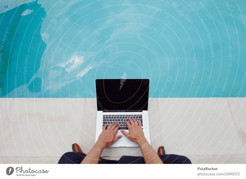 Vacation & Travel Calm Business Work and employment Contentment Telecommunications Future Break Target Write Internet Swimming pool Desire Media Services