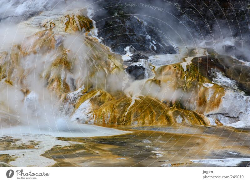 Nature Water White Yellow Life Landscape Brown Gold Fire Dangerous Threat Elements Hot Fantastic Exotic New Zealand