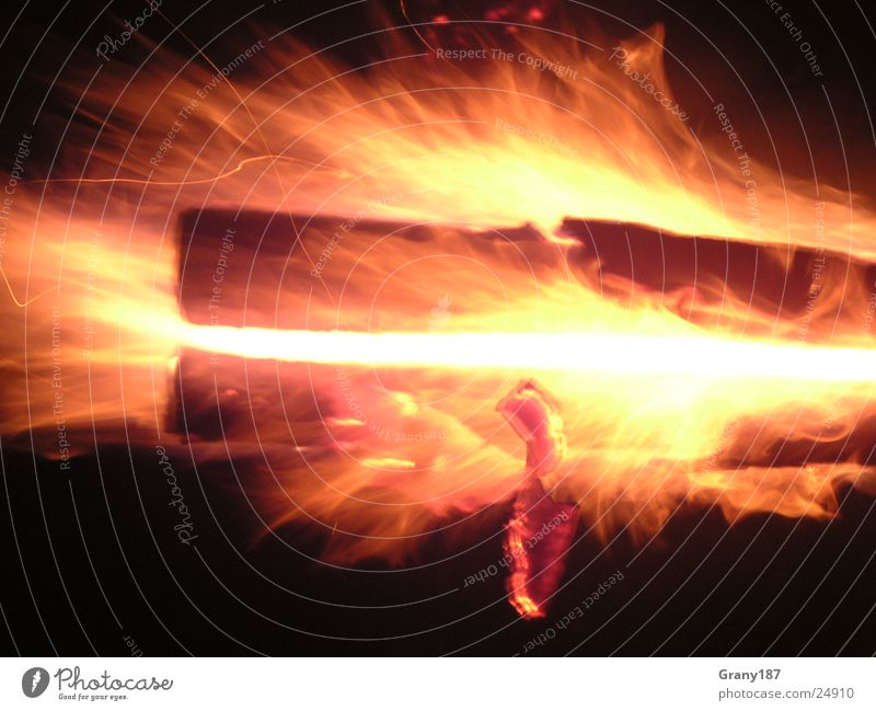 Vacation & Travel Bright Blaze Large Hot Advertising Burn Poster Match Printed Matter Advertising executive