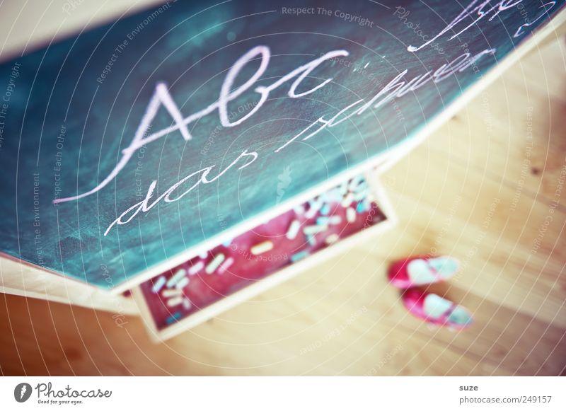 School Footwear Leisure and hobbies Infancy Study Characters Living or residing Letters (alphabet) Education Childhood memory Blackboard Typography Chalk Parenting Wooden floor Figure of speech