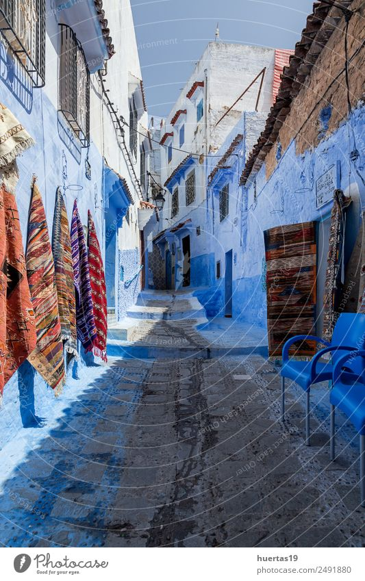 Chaouen the blue city of Morocco Shopping Vacation & Travel Tourism Village Small Town Downtown Building Architecture Old Blue Chechaouen maroc medina kasbah
