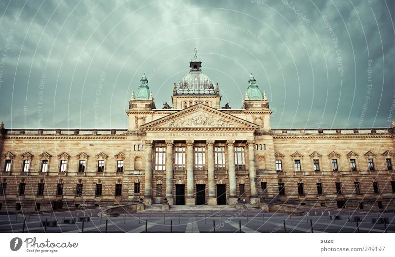 In court Sightseeing Environment Sky Clouds Storm clouds Weather Manmade structures Building Architecture Dark Historic Might Politics and state