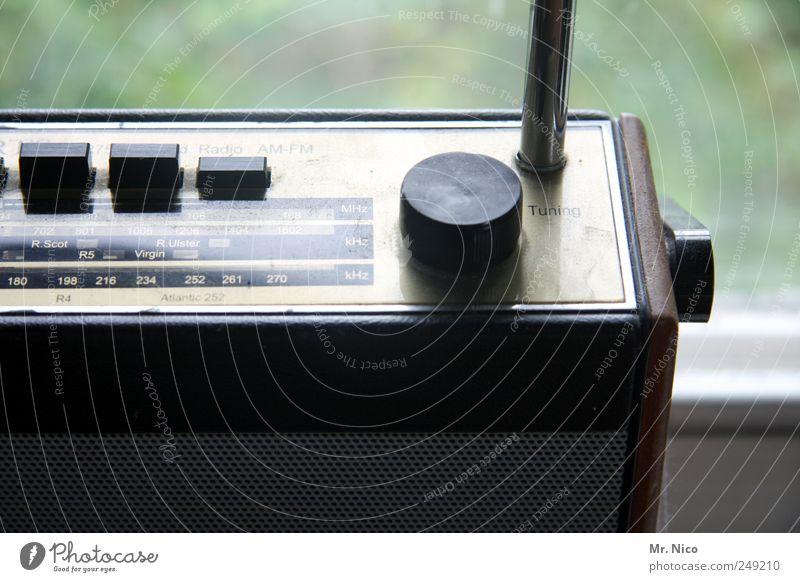 Old Design Retro Listening Media Analog Rotate Radio (device) Nostalgia Sound Antenna High-tech Mono Clang Broacaster Junk