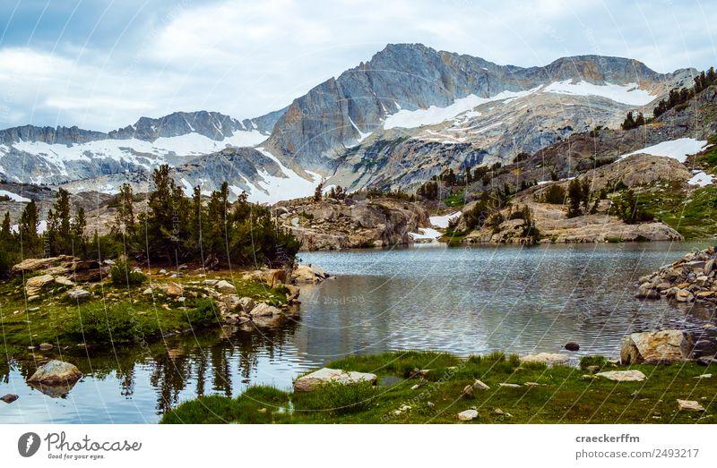 American landscape, Yosemite Landscape Lake Blue USA Mountain