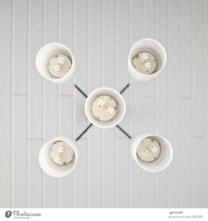 X Lamp Lampshade Energy industry Save Arrangement Symmetry White Energy-saving bulb Orderliness Design Equal Cold Thrifty Bright Structures and shapes Formation