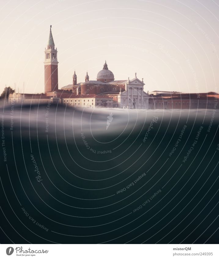 Sestieri. Art Work of art Adventure Esthetic Venice Veneto San Giorgio Maggiore Underwater photo Underwater camera Emerge Submarine Discover Tourism