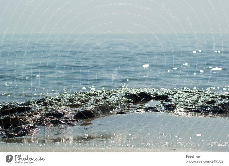 Sky Nature Blue Summer Ocean Environment Landscape Sand Coast Stone Bright Wet Rock Natural Hot