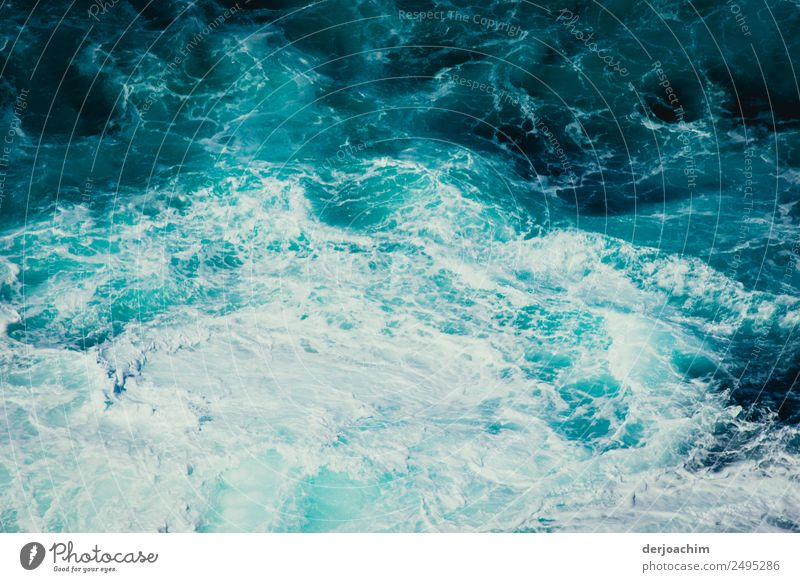 Dry spell / water without end. Backwash from a ship. Exotic Life Harmonious Ocean Environment Nature Elements Water Summer Beautiful weather Waves Queensland