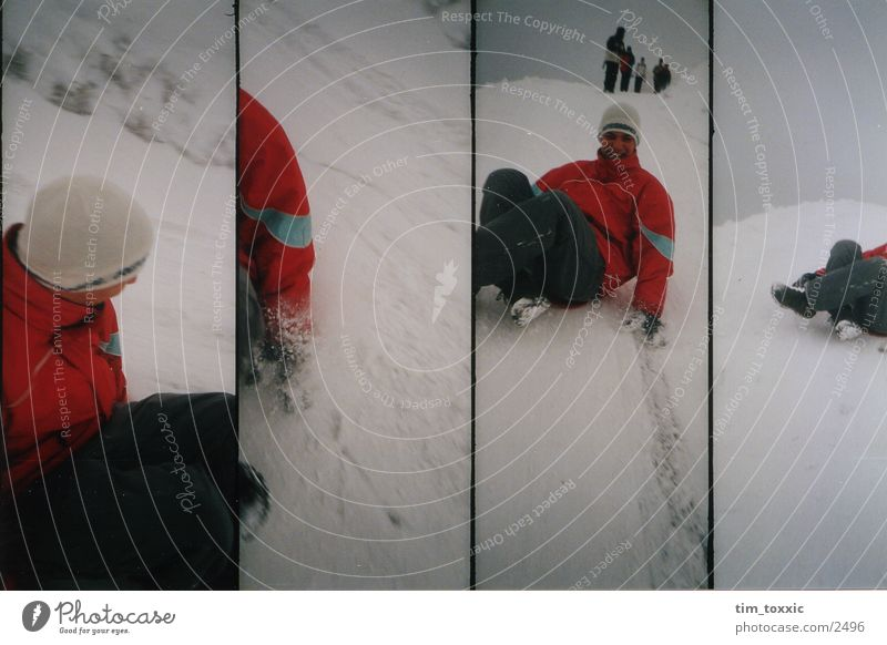 lomo_winter Winter White Gray Lomography Snow