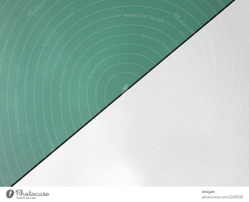 Sky Green Colour Gray Line Half Go up Stock market Right ahead
