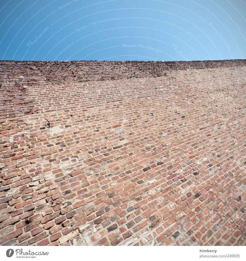 Wall (building) Wall (barrier) Building Art Facade Design High-rise Planning Safety Construction site Uniqueness End Manmade structures Harbour Mysterious Brick