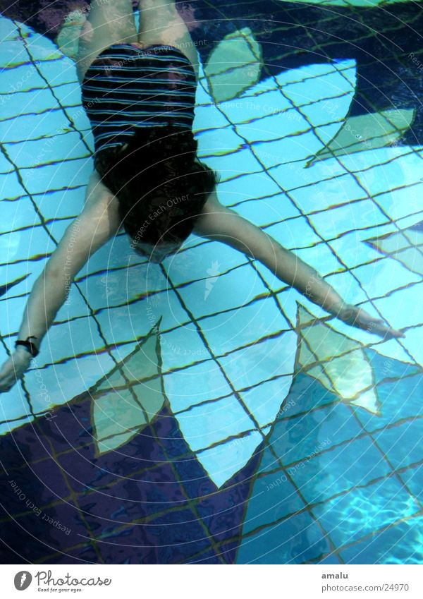 Human being Water Swimming pool Under Swimmer (professional sportsman)