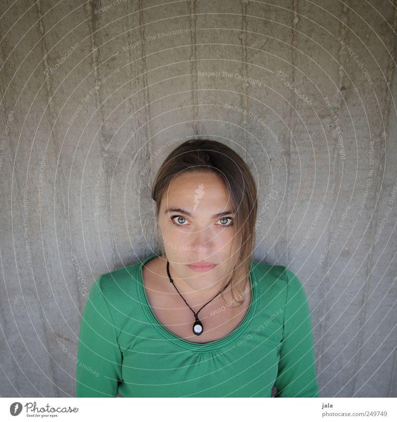 Woman Human being Beautiful Feminine Wall (building) Wall (barrier) Adults Concrete wall 30 - 45 years