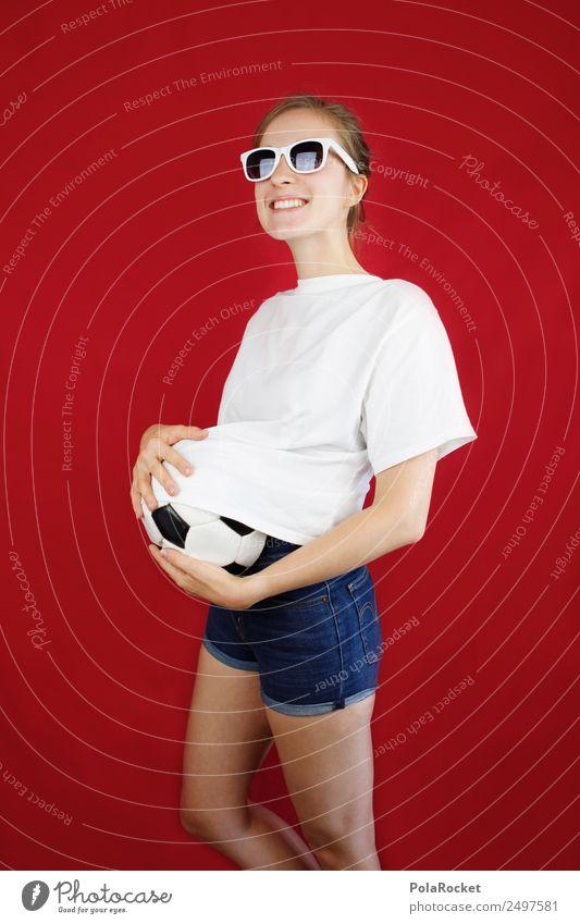 #A# WM preparation Art Esthetic World Cup Soccer Foot ball Table soccer Football pitch Soccer player Soccer club Soccer training Baby Baby bump Joy Comical