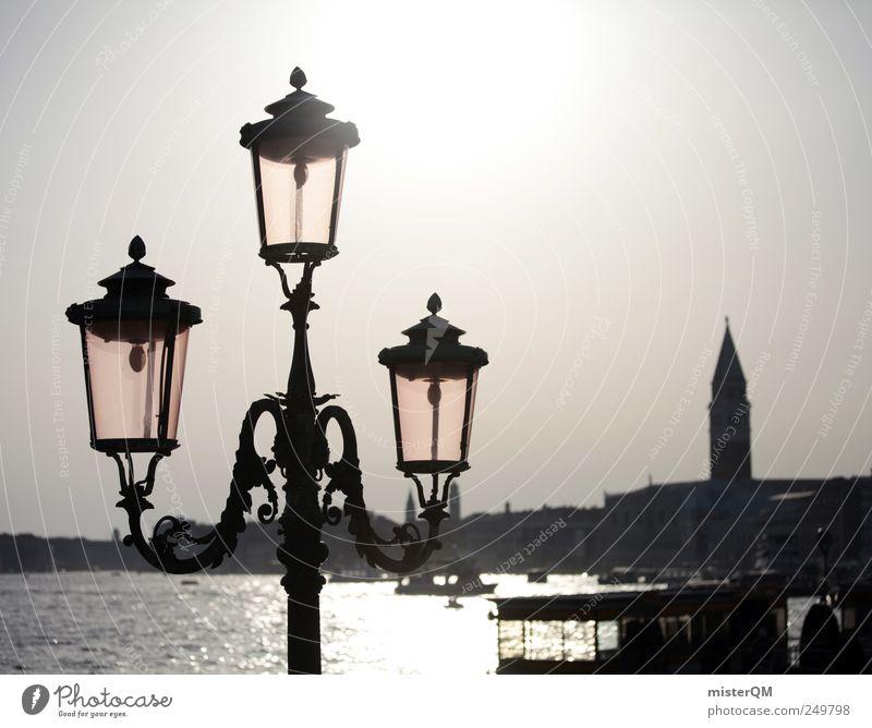 City Ocean Bright Art Lighting Tourism Esthetic Culture Italy Lantern Illuminate Tourist Attraction Venice Ferry Baroque Lamp post