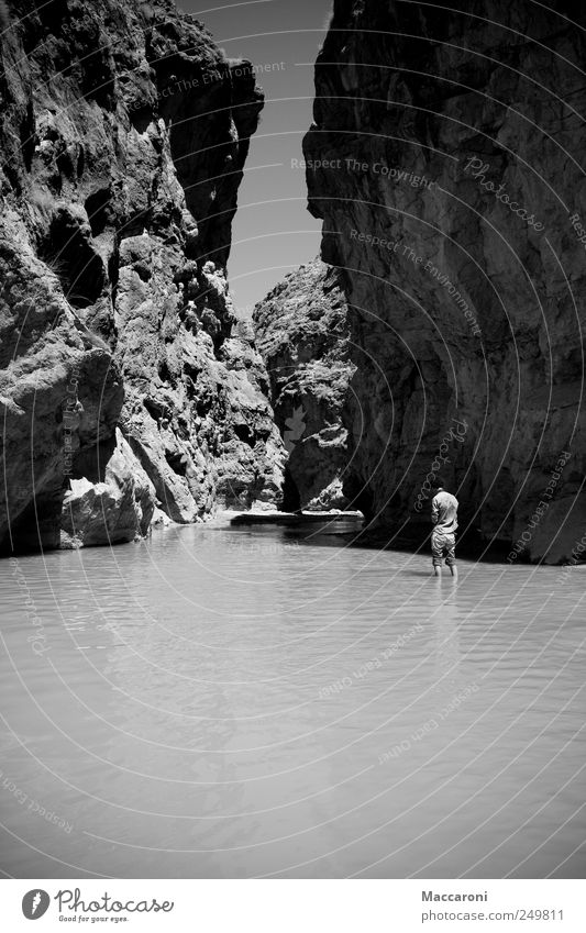 canyon shithead Vacation & Travel Tourism Trip Adventure Far-off places Freedom Hiking Workplace Human being Masculine 1 Nature Landscape Elements Water