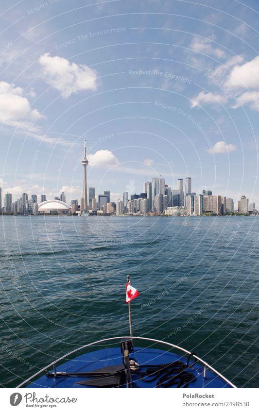 #A# Off to Toronto Skyline Adventure Toronto Congress Centre Canada Navigation Ocean Lake Tourism Sightseeing Wanderlust Flag Vacation & Travel