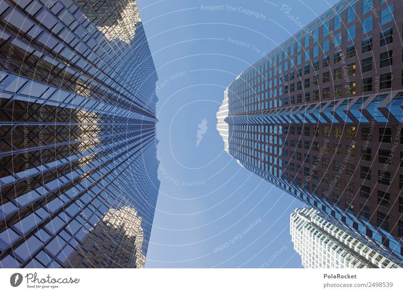 #A# Glass intransparency Skyline Esthetic City Lure of the big city Toronto Canada Banking district Bank building Financial institution Financial Industry