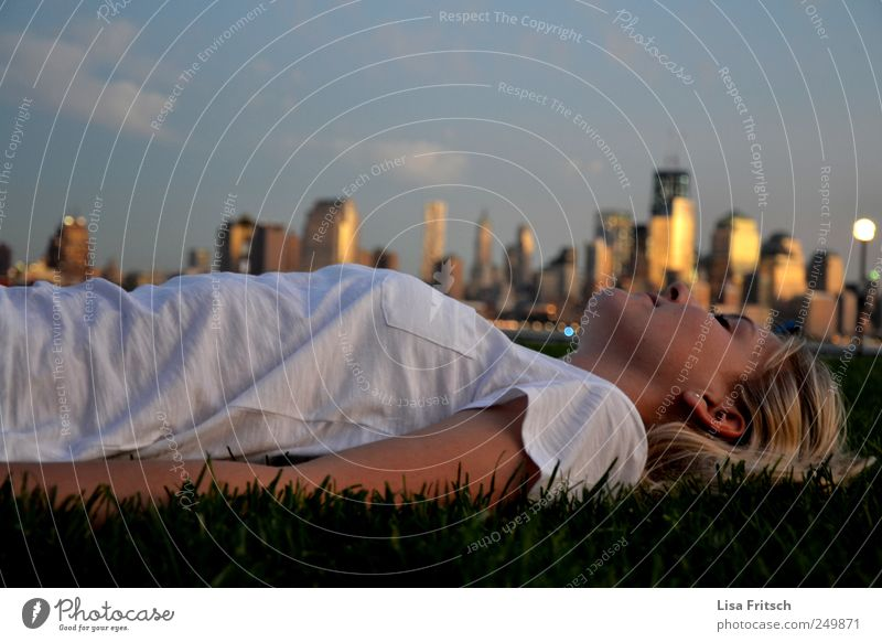 Human being Vacation & Travel Youth (Young adults) City Summer Young woman 18 - 30 years Far-off places Environment Adults Life Grass Happy Dream Tourism Future