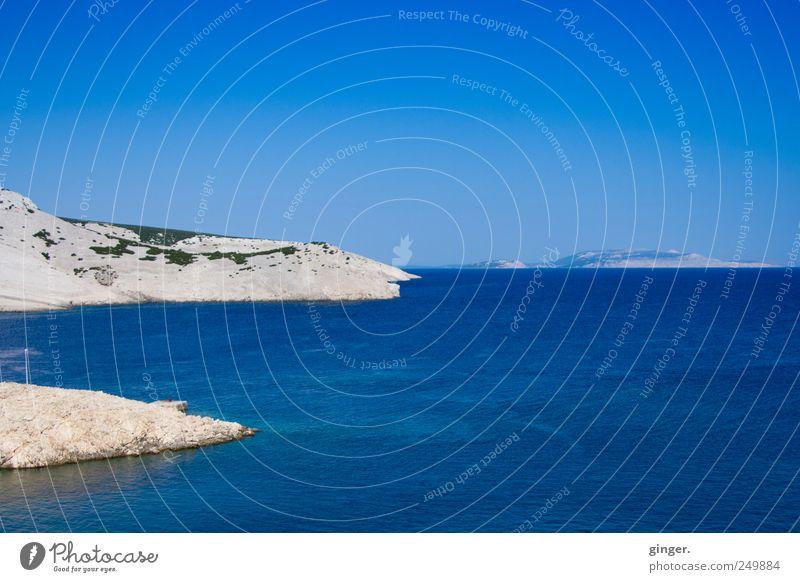 Sky Nature Water Blue Beautiful Summer Vacation & Travel Ocean Far-off places Environment Landscape Sand Coast Waves Horizon Island