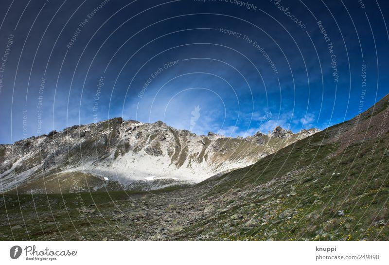 Sky Nature Blue Green White Summer Environment Mountain Landscape Grass Gray Wind Hiking Elements Alps Switzerland