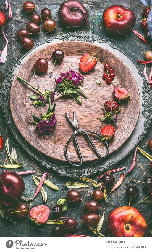Summer fruit from the garden Food Fruit Nutrition Organic produce Vegetarian diet Diet Style Healthy Eating Life Living or residing Kitchen Design seasonal