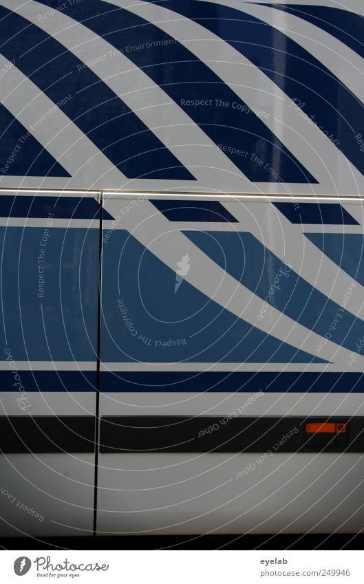 White Blue Metal Line Elegant Design Transport Stripe Technology Decoration Clean Kitsch Travel photography Sign Steel Machinery