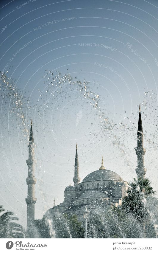 a blue miracle Istanbul Turkey Capital city Downtown Manmade structures Building Architecture Mosque Blue Mosque Minaret Domed roof Tourist Attraction Landmark