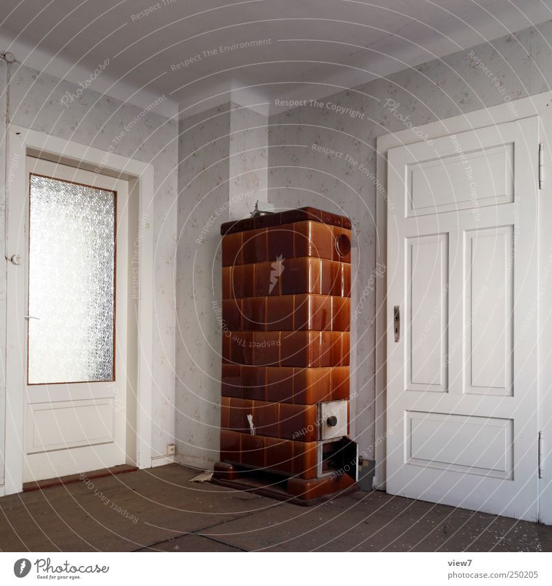 Homey Living or residing Interior design Room Building Wall (barrier) Wall (building) Window Door Old Authentic Simple Large Historic Natural Retro Gloomy