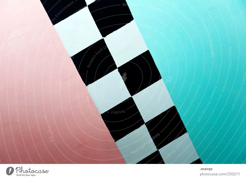 Blue Beautiful Style Background picture Pink Illustration Border Diagonal Turquoise Division Difference Geometry Checkered Converse Symmetry Tilt