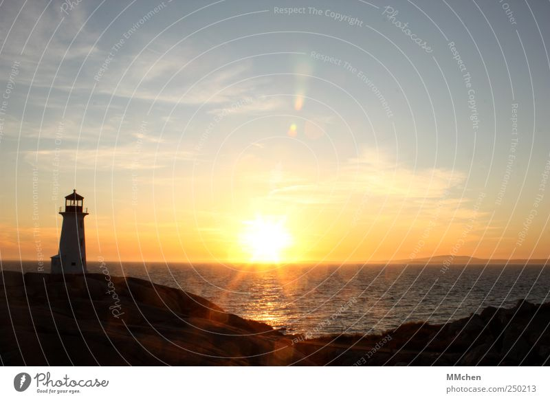Dreams are not enough Trip Far-off places Freedom Cruise Ocean Island Weather Beautiful weather Coast Lakeside Lighthouse Tourist Attraction Navigation