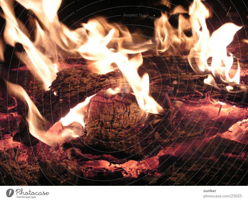 Wood Moody Blaze Flame Fireplace Embers Zoom effect