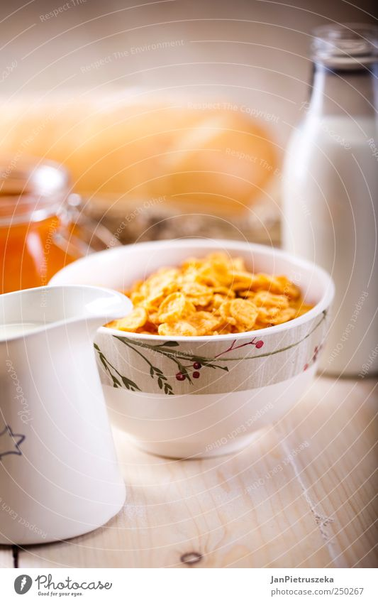 Breakfast Food Fresh Grain Bread Organic produce