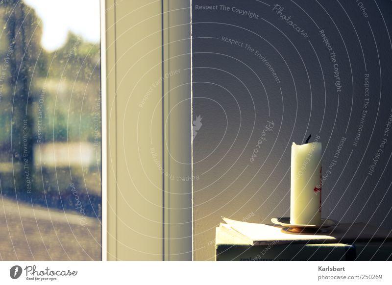 ΑΩ Living or residing Flat (apartment) Decoration Window Window pane Funeral service Education Book Wall (barrier) Wall (building) Candle Sign Longing
