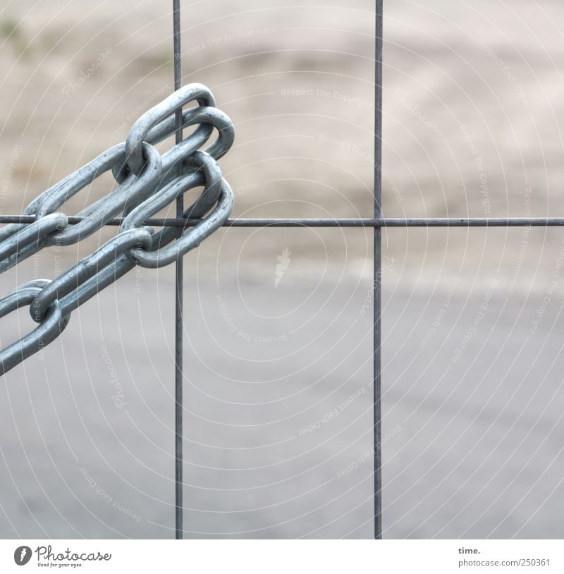 Sand Metal Safety Construction site Fence Hang Chain Testing & Control Tension Wire Surveillance Adequate Chain link