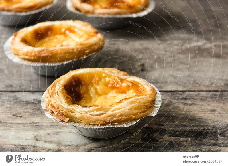 typical portuguese dessert pasteis de nata Food Healthy Eating Dish Food photograph Portugal Portuguese Belém pastel Sweet Candy Dessert Tradition