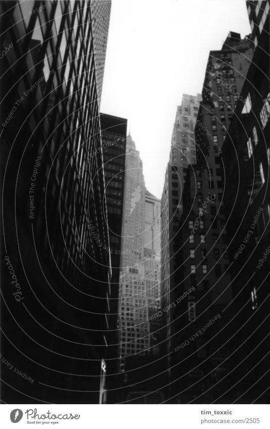 City House (Residential Structure) Dark USA New York City Manhattan Wall Street