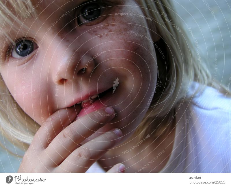Child Hand Girl Eyes Hair and hairstyles Mouth Nose Electricity