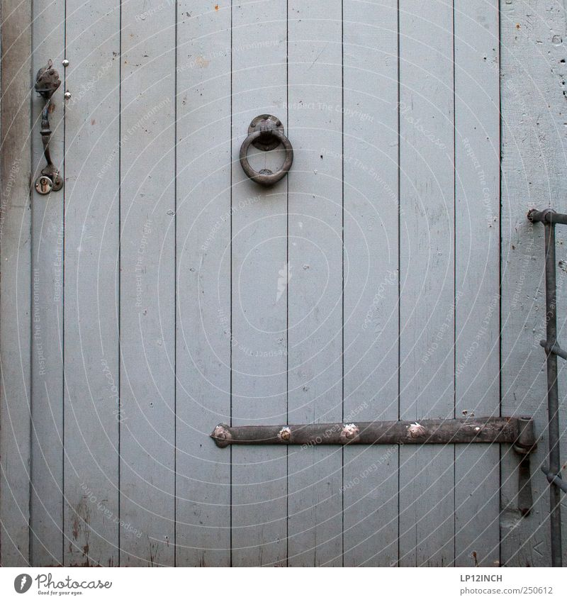House (Residential Structure) Wood Building Door Historic Lock Nostalgia Tradition Tourist Attraction Old town Knock Luneburg
