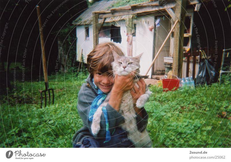 poor cat Cat Child Boy (child) Americas France choke